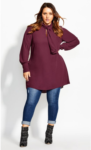 Neck Tie Tunic - port