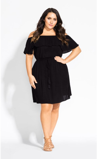 Sun Kissed Dress - black