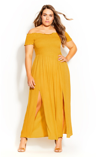 Summer Passion Maxi Dress - sunshine