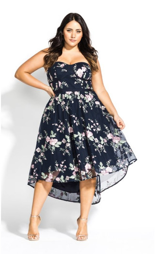 Aphrodite Dress - Navy