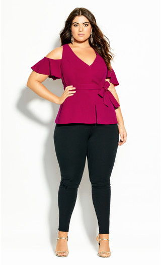 Match Maker Top - framboise