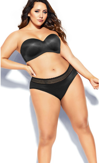 Bodycon Multiway Bra - black