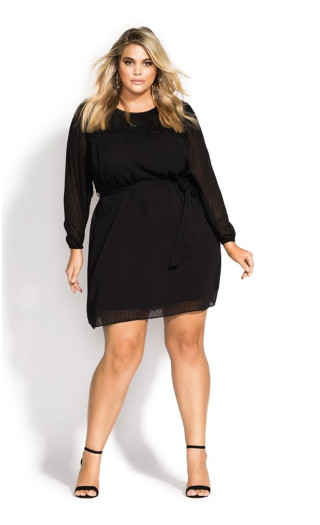 Dark Side Dress - black