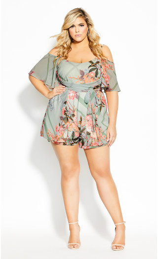 Sierra Playsuit - sage