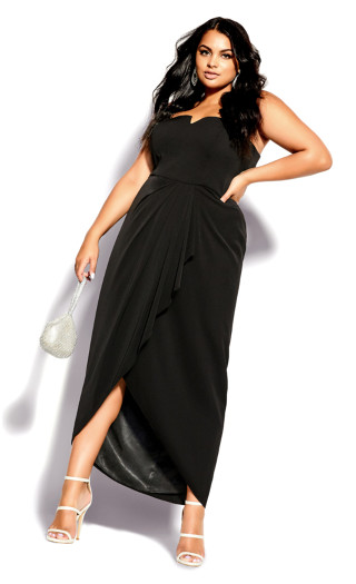 Beloved Maxi Dress - black