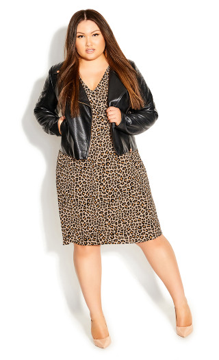 Cheetah Dress - cheetah