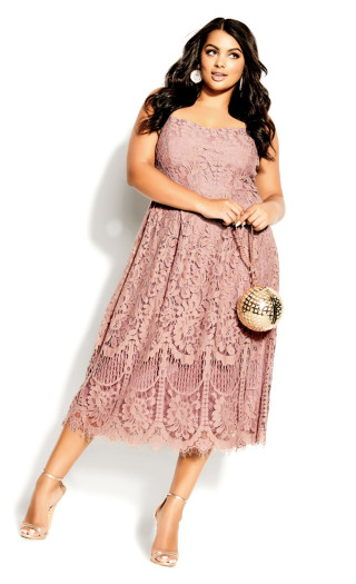 Sweetie Darling Dress - rose