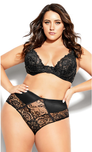 Abby Underwire Bra - black