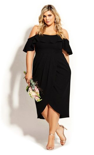 Flirtation Dress - black