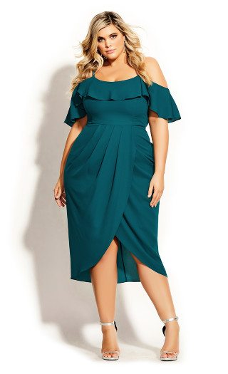 Flirtation Dress - turquoise