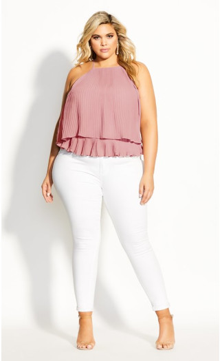 Wild Thing Top - rose