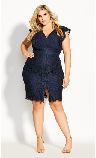 Sweet Julia Dress - navy