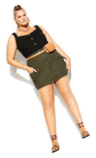 Explorer Skirt - khaki
