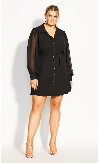 Love Me Tunic - black
