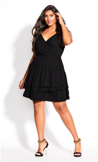 Ramble Dress - black