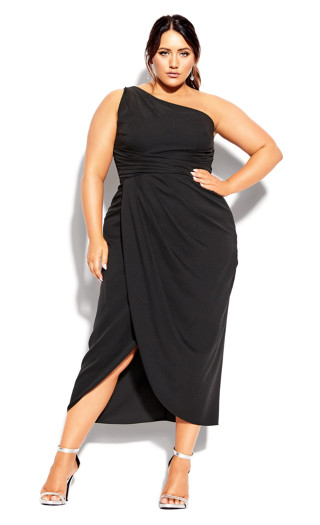 True Love Dress - black
