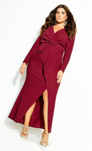 One Dream Maxi Dress - red