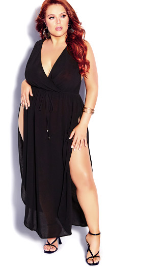 Sunlover Maxi Dress - black