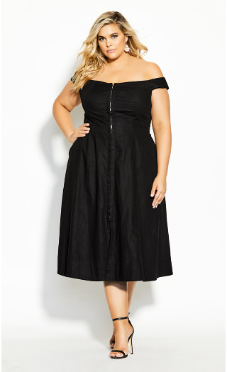 Summer Daze Dress - black