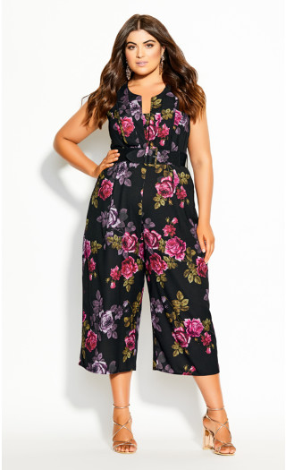 Romance Jumpsuit - black