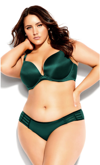 Adore Back Smoother Push Up Bra - teal