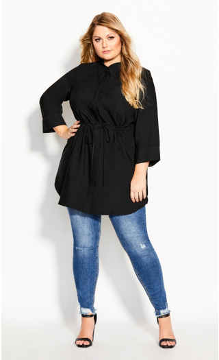 Sophisticated Shirt - black