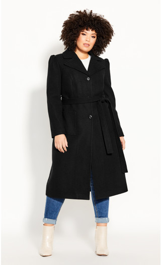 Royal Life Coat - black