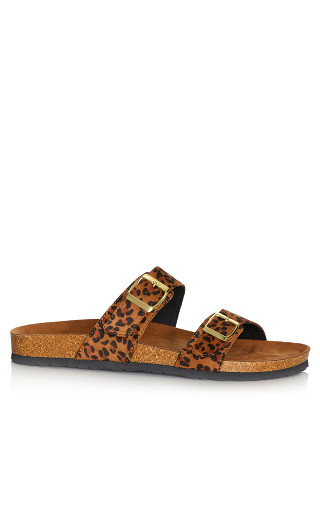 Nelly Sandal - leopard