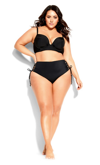 Grenada Underwire Top - black