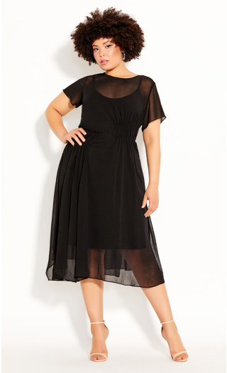 Dark Sky Dress - black