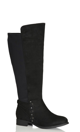 Phoenix Tall Boot - black
