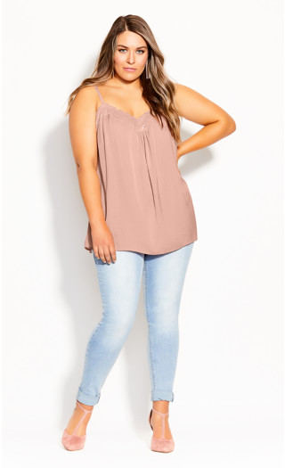 Budding Romance Cami - soft rose