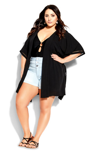 Sun Lover Kaftan - black