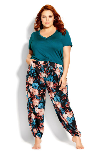 Amy Sleep Pant - black