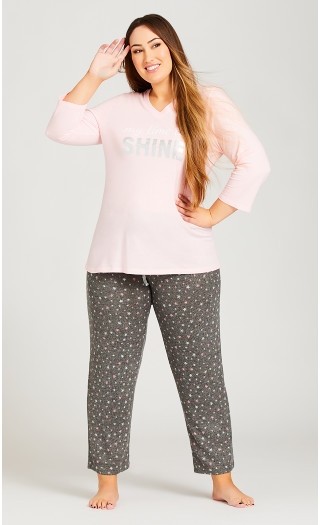 Star Hacci Pant - grey star
