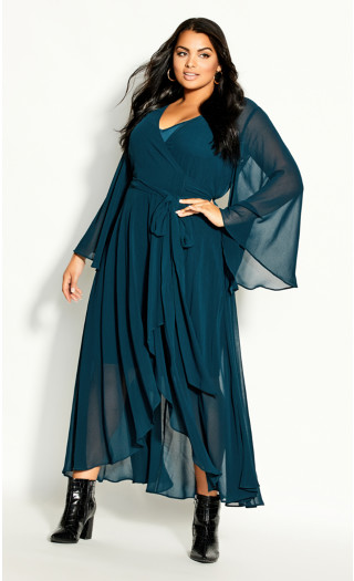Fleetwood Maxi Dress - alpine