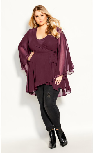 Fleetwood Tunic - plum
