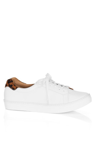 Carrie Print Sneaker - animal