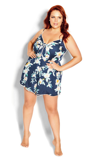 Romy Playsuit - navy