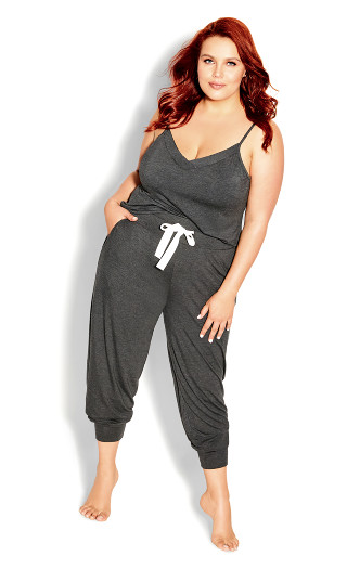 Carrie Pant - charcoal