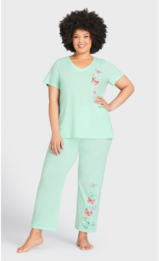 Blushing Sleep Pant - mint