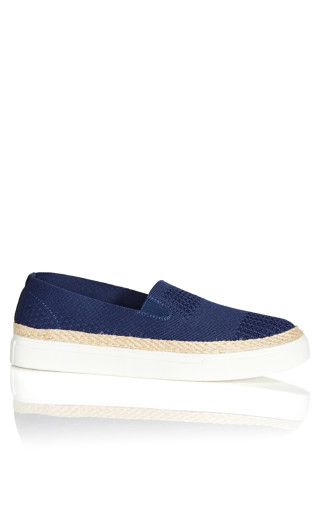 Cindy Slip On - navy