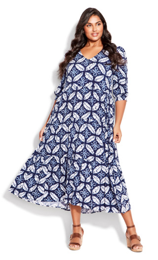 To The Max Dress - sapphire