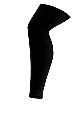 Velvet Legging - black