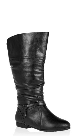 Chelsea Ruched Tall Boot