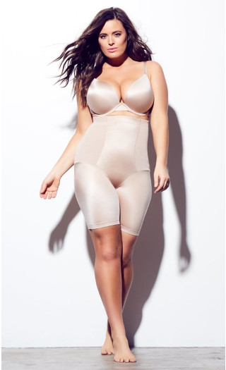 Smooth & Chic Thigh Shaper - latte