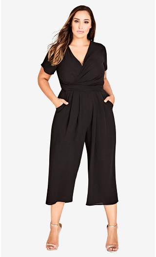 Asplice Jumpsuit - black