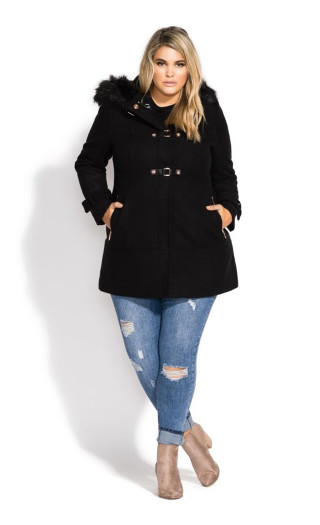 Wonderwall Coat - black