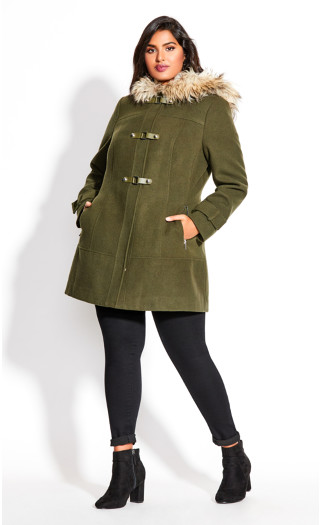Wonderwall Coat - khaki