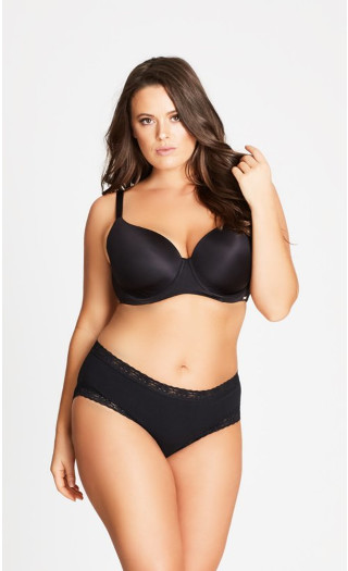 Smooth & Chic T-Shirt Bra - black